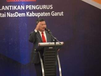 Bupati Garut Hadiri Pelantikan Pengurus DPD Partai NasDem Kabupaten Garut
